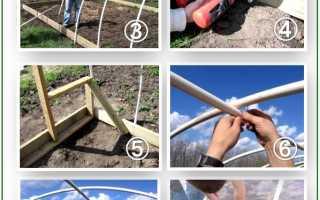Теплица из труб ПВХ (полипропиленовых труб) — технология возведения