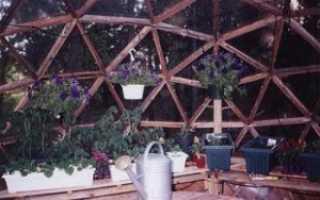Купольная Теплица Из Материала Поликарбонат