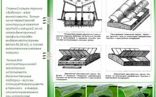 Парник «Бабочка»: обзор характеристик, отзывы и варианты модернизации