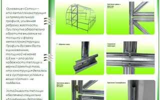 Теплицы Сотка: обзор характеристик, отзывы и инструкция по сборке