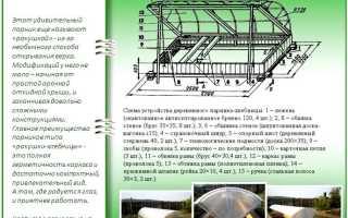 Парник «Хлебница»: обзор характеристик и самостоятельная сборка