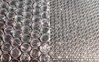 Пузырчатая пленка в теплице: изготовление, свойства, использование в строительстве