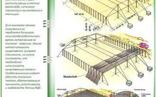 Теплицы HouseNet (Хауснет): строим теплицу из сетки нового поколения
