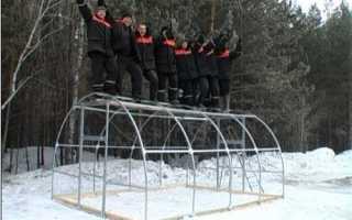 Сибирские теплицы с усиленным каркасом