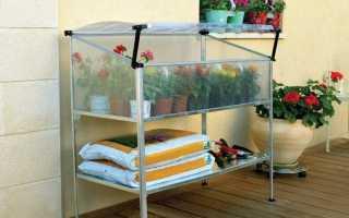Парник для балкона: идеи для строительства своими руками