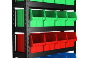 Пластиковые Стеллажи: Правила Выбора Конструкции