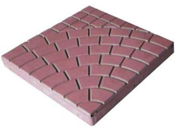 Бетонная плитка для дорожки