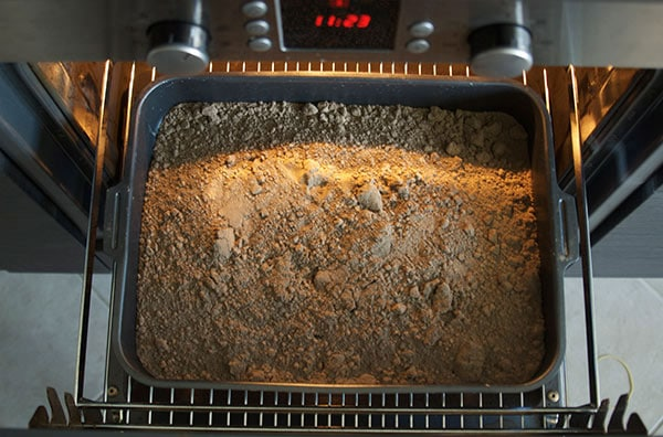 Прокаливание почвы в духовке