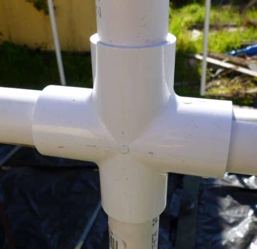 Крестовина для соединения труб
