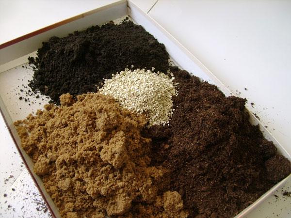 Компоненты для почвогрунта