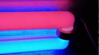 Биспектральная лампа в действии