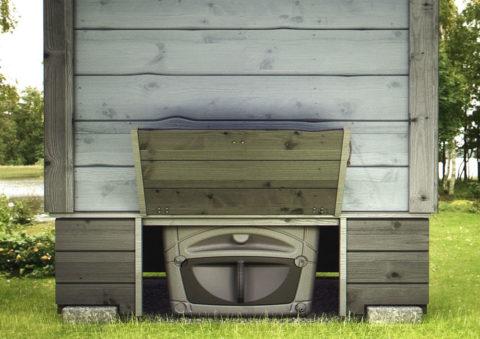 Дачный биотуалет – это мини-фабрика по производству удобрений