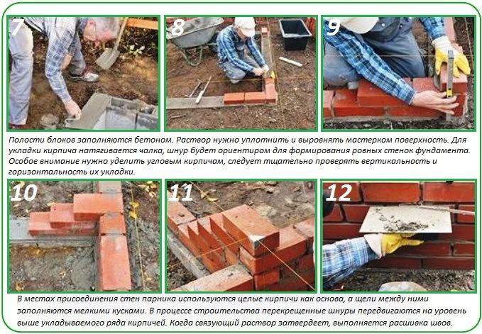 Как построить фундамент для теплицы из поликарбоната своими руками