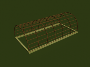 как построить теплицу из дерева