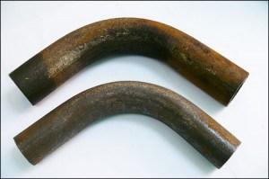 Согнутая труба для парника