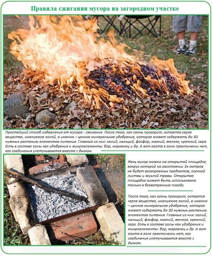 Способы уничтожения тепличного мусора