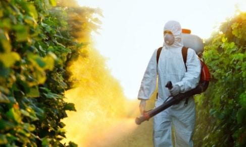 Охранные меры защиты при работе с пестицидами