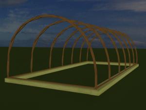 построить теплицу из дерева