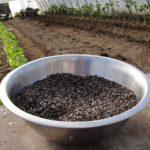 Равномерное распределение обеспечивается смешиванием семян с сыпучими материалами