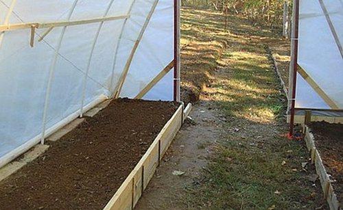 Подготовка почвогрунта в теплице