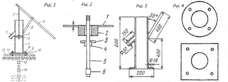 Схематический рисунок для ручной сборки