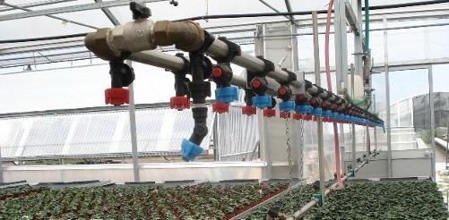 Как выглядит система полива теплицы