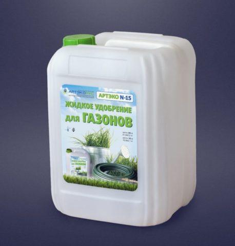Специальное удобрение для газонов