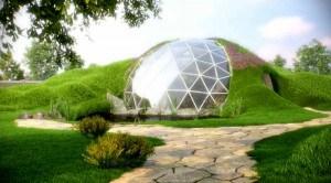 теплица геодезический купол